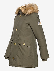 Svea - Miss Smith Jacket - padded coats - dark army - 4
