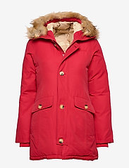 Svea - Miss Smith Jacket - dunkappor - red - 0