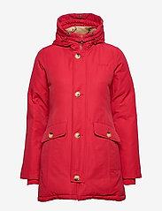 Svea - Miss Smith Jacket - dunkappor - red - 5
