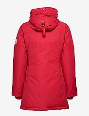 Svea - Miss Smith Jacket - dunkappor - red - 8
