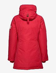 Svea - Miss Smith Jacket - dunkappor - red - 9