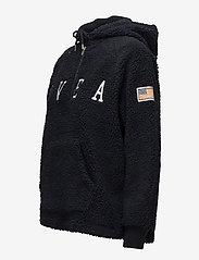 Svea - Ophelia Pile Hood - hoodies - dark navy - 2