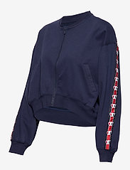 Svea - Violet Zip Sweat - bomber jakker - blue - 2