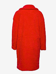 Svea - Marble Jacket - kunstpelz - bright red - 1