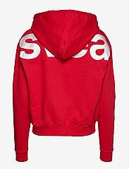 Svea - Malaga Zip Hood - bluzy z kapturem - bright red - 1