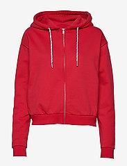 Svea - Malaga Zip Hood - bluzy z kapturem - red - 0