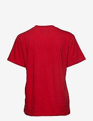 Svea - Oxford Tee - t-shirts - bright red - 1