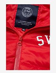 Svea - Tucson JR Jacket - puffer & padded - red - 6