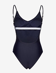Svea - Rhodes Swimsuit - swimsuits - navy - 1