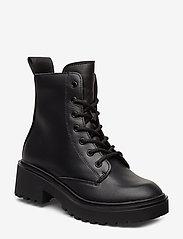 Svea - Leather Boot - flache stiefeletten - black - 0