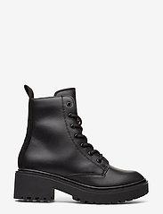 Svea - Leather Boot - flache stiefeletten - black - 1