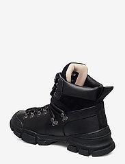 Svea - Tracking Boot - platte enkellaarsjes - black - 2