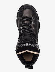 Svea - Tracking Boot - platte enkellaarsjes - black - 3