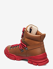 Svea - Tracking Boot - platte enkellaarsjes - cognac - 2