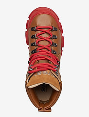 Svea - Tracking Boot - platte enkellaarsjes - cognac - 3