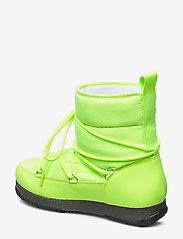 Svea - Snowflake Low - flat ankle boots - neon yellow - 2