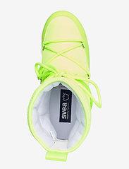 Svea - Snowflake Low - flat ankle boots - neon yellow - 3