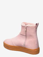 Svea - Suede / Pile Boots - flat ankle boots - soft pink - 2