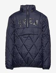 Svea - K. Quilted Anorak Hood Jacket - dunjakker & forede jakker - navy - 2