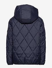 Svea - K. Quilted Anorak Hood Jacket - dunjakker & forede jakker - navy - 3