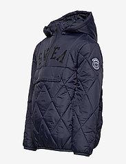 Svea - K. Quilted Anorak Hood Jacket - dunjakker & forede jakker - navy - 4