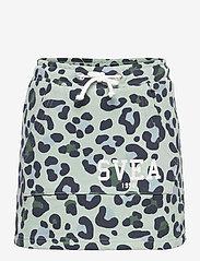 Svea - K. Girly Sweat Skirt - röcke - minty leo - 0