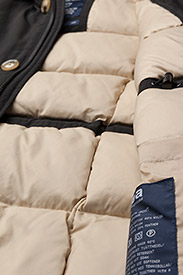 Svea - Miss Smith Jacket - gewatteerde jassen - black - 5