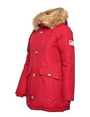 Svea - Miss Smith Jacket - dunkappor - red - 10