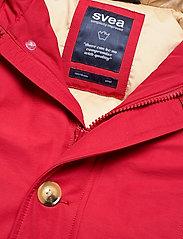 Svea - Miss Smith Jacket - dunkappor - red - 2