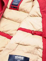 Svea - Miss Smith Jacket - dunkappor - red - 4