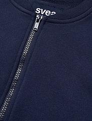 Svea - Violet Zip Sweat - bomber jakker - blue - 4