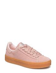 Anna Wide Lace Sneaker - BLUSH