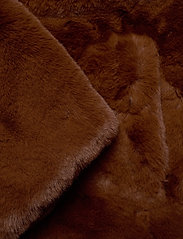 Svea - Kennedy Jacket - faux fur - brown - 3