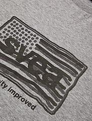 Svea - Flag T-shirt - t-shirts imprimés - grey melange - 2