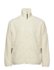 Maison Pile Zip Sweater - OFFWHITE