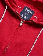 Svea - Malaga Zip Hood - bluzy z kapturem - red - 2