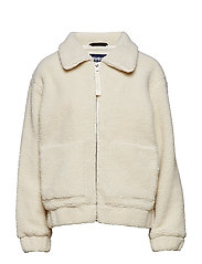 Rome Pile Jacket - OFFWHITE