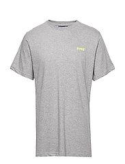 Svea R Small Chest Logo T-shirt - GREY MELANGE