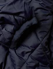 Svea - K. Quilted Anorak Hood Jacket - dunjakker & forede jakker - navy - 6