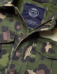 Svea - K. Army Jacket - denimjakker - green leo - 4