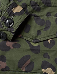Svea - K. Army Jacket - denimjakker - green leo - 5