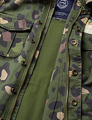 Svea - K. Army Jacket - denimjakker - green leo - 6