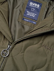 Svea - W. Long Queen Jacket - parkasjackor - dark army - 4