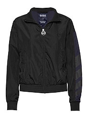 U. Dark Windbreaker Jacket - BLACK