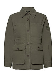W. Utility Jacket - ARMY GREEN