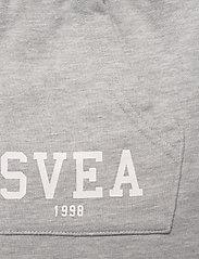 Svea - K. Girly Sweat Skirt - röcke - grey melange - 2
