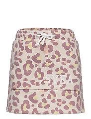 K. Girly Sweat Skirt - NUDE LEO
