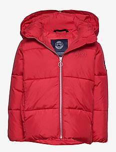 Amy JR Jacket - puffer & padded - red