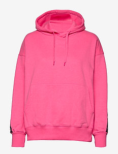 Janet Hood - hoodies - neon pink