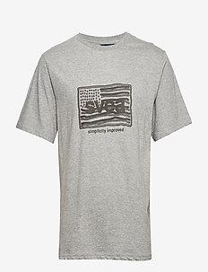 Flag T-shirt - GREY MELANGE